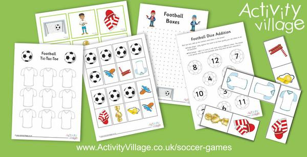 Tackle one of our new soccer games with the kids!