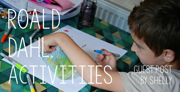 Guest Post - Roald Dahl activities for Roald Dahl's birthday