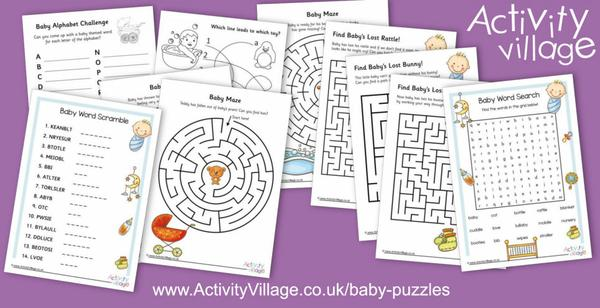 Enjoy our new collection of baby puzzles