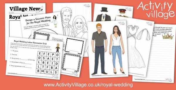 Our Royal Wedding activities
