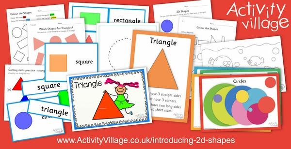 "We continue our ""Maths Stage by Stage"" section with a colourful introduction to 2D shapes."