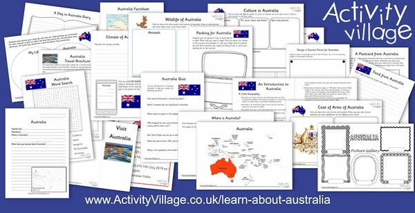 Learn about Australia with the kids