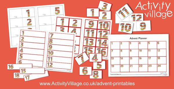 We've added more useful printables for Advent