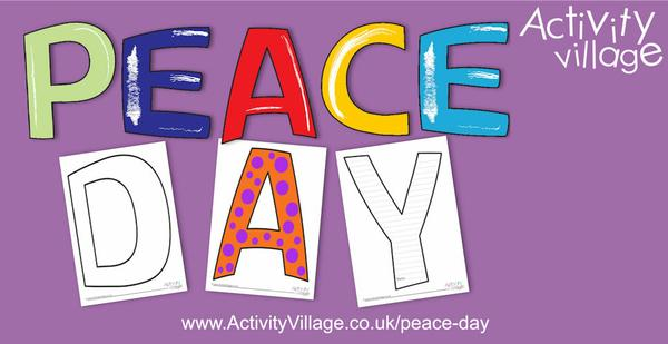 4 new types of letters for Peace Day , for creative writing and displays. Take your pick!