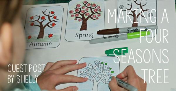 Guest Post - Making a Four Seasons Tree