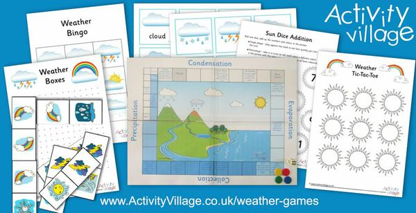 All new Weather Games!