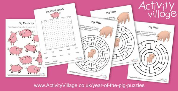 Topping up our Year of the Pig puzzle collection