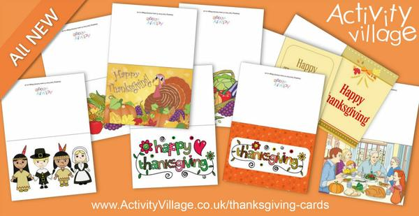 New Thanksgiving cards to print