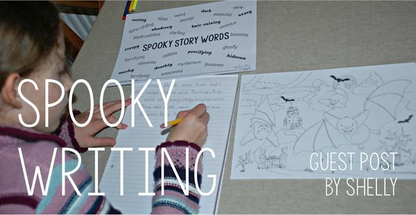 Spooky writing inspiration from Shelly and the kids