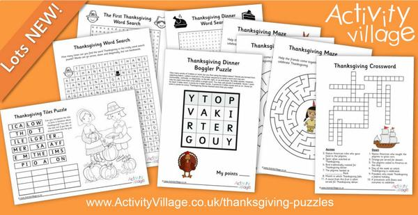 Topping up our Thanksgiving puzzles collection