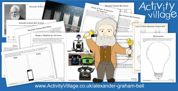 Learning about Alexander Graham Bell, and his invention