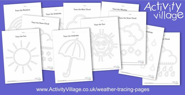 New weather tracing pages