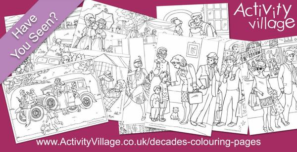 Have you seen our decades colouring pages?