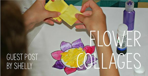 Guest Post - Flower Collages