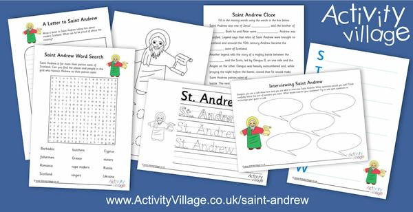 Adding to our Saint Andrew section