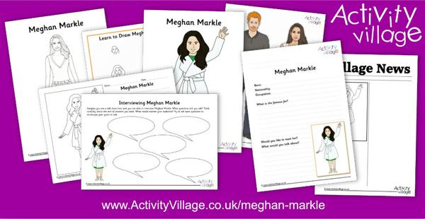 Learn about Meghan Markle with these fun new activities