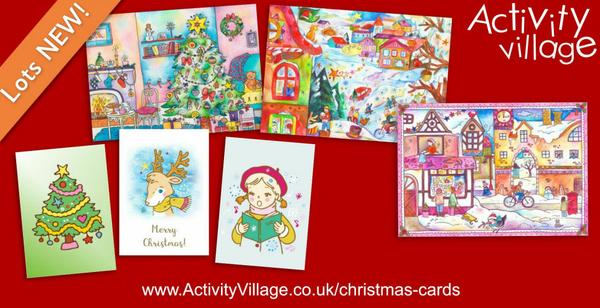 Gorgeous new Christmas cards to print
