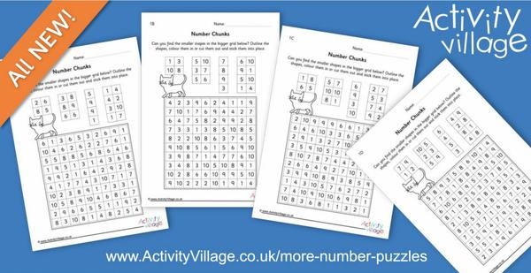 A new kind of number puzzle - Number Chunks!