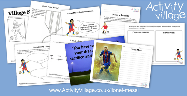 We've updated and expanded our Lionel Messi page