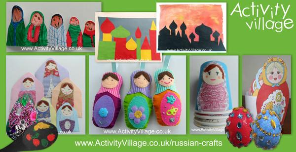 Have you seen our Russian crafts?