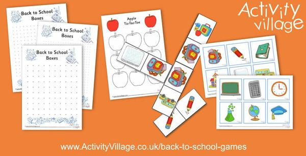 "Have a go at some ""Back to School"" games"