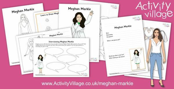 The bride, Meghan Markle