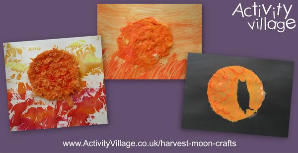 Three harvest moon crafts