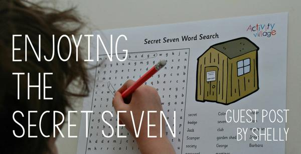 Guest Post - Enjoying the Secret Seven