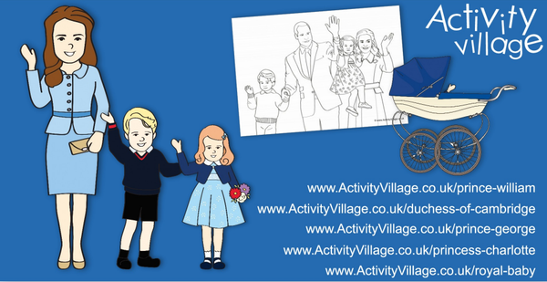 We've updated and added some lovely new printables of the Cambridge family