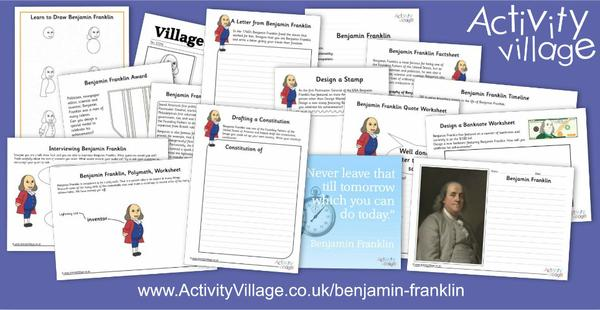 This week we've been learning about the remarkable Benjamin Franklin