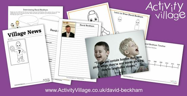 Updating our David Beckham page