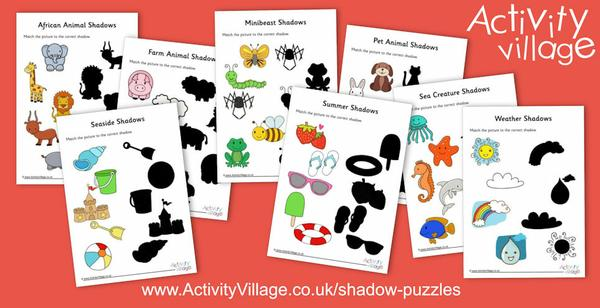 Brand new shadow puzzles!