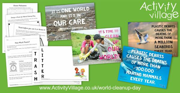 Introducing our new World Cleanup Day page and activities