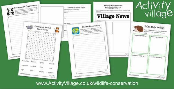 A new wildlife conservation page