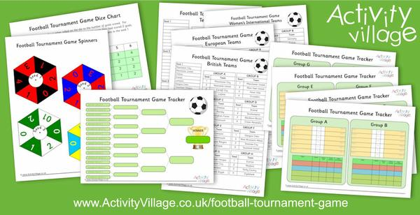 New football tournament game for footie mad kids!