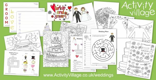 All sorts of activities for weddings