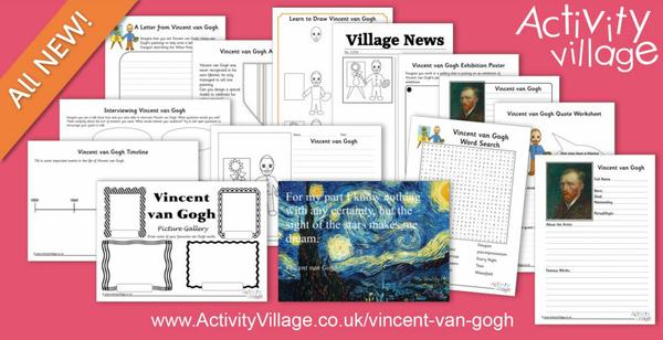 Learn about Vincent van Gogh with this fun collection of resources