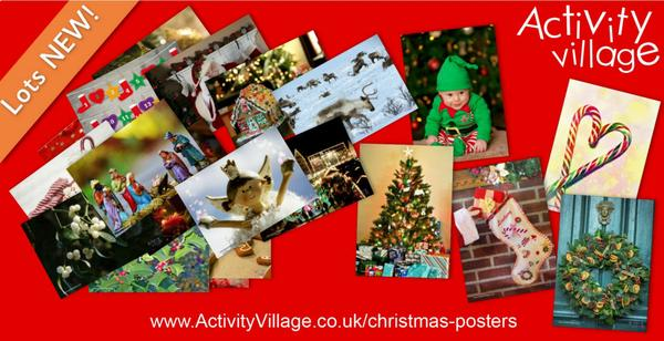 Lovely new photographic Christmas posters