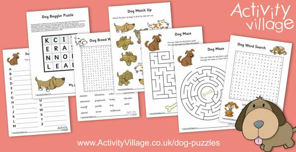 Challenge the kids to some of our new dog puzzles!