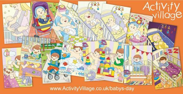 Baby's day activities