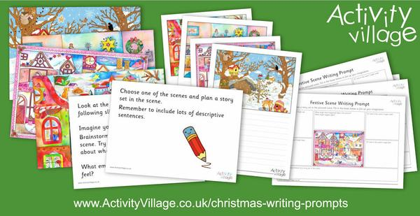 Spark some creative writing with these new Christmas writing prompts