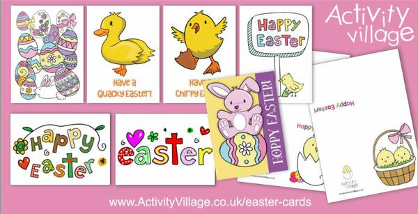 We've been updating and adding to our Easter card collection