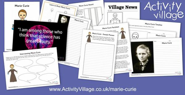 Learning about Marie Curie
