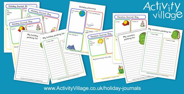 Have you seen our holiday journal pages?