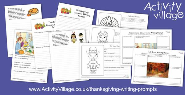 Get creative with these new Thanksgiving writing prompts
