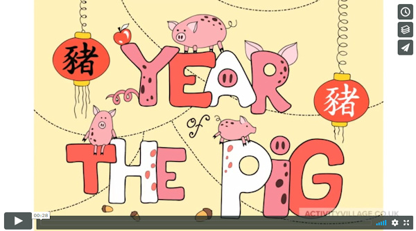 Year of the Pig slideshow video on Vimeo