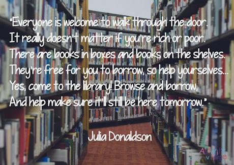 A short biography of Julia Donaldson