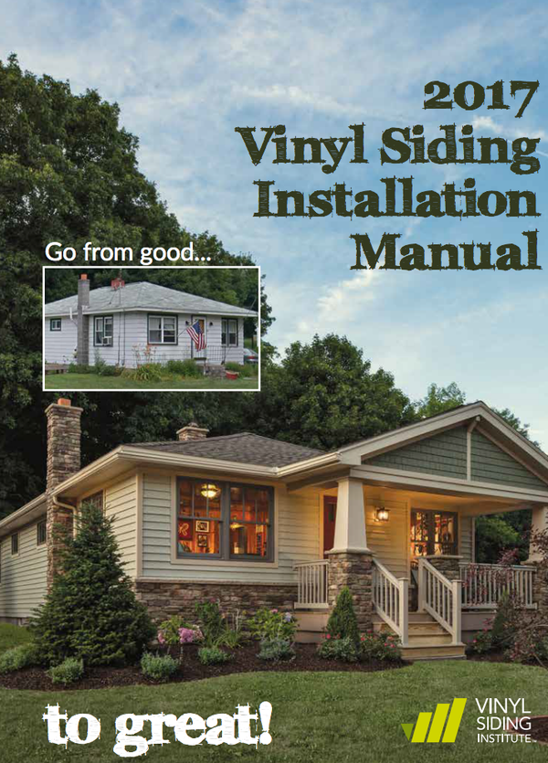 2017 Vinyl Siding Installation Manual