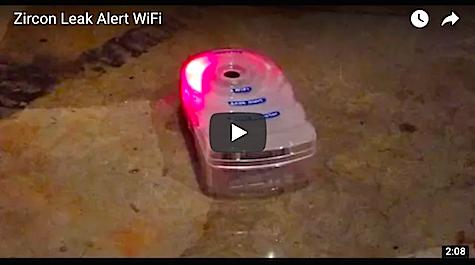 Zircon Leak Alert WiFi