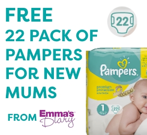 Emma's Diary Free Nappies Banner